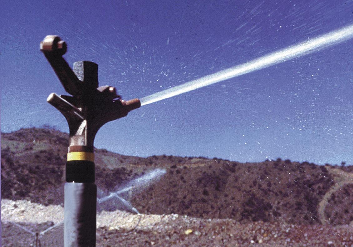 80 Series Impact Sprinklers - Mining