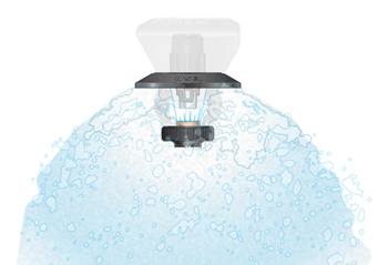 LEPA Shroud with bubble pad