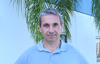 Christophe Calzada, Senninger's Area Manager for Western Europe and Northwest Africa