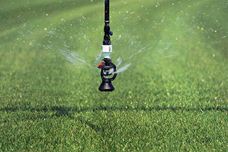 Senninger Wobbler sprinklers are designed for low pressure operation
