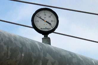 Pressure gauges help know if the pressure regulator is working