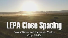 Interview: LEPA Close Spacing Saves Water and Increases Yields
