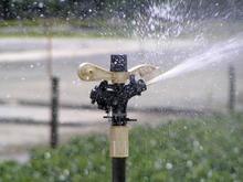 Part Circle Impact Sprinkler