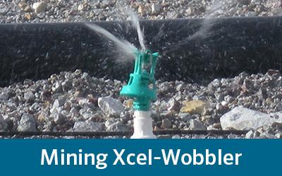 Senninger's mining Xcel-Wobbler